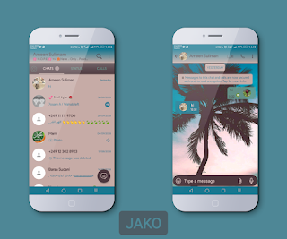 Tree Theme For YOWhatsApp & Fouad WhatsApp By Jako