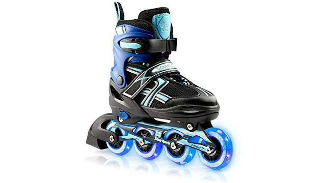 XinoSports Kids Inline Skates for Girls & Boys