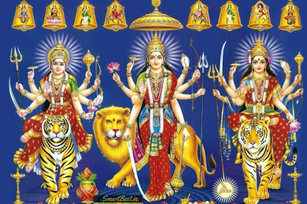 Different Forms Of Durga