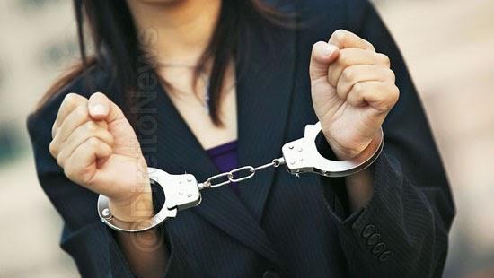 falsa advogada presa defender cliente delegacia