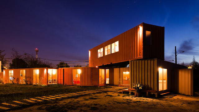 Shipping Container Sale Rooms, Showroom and Offices, Santiago, Chile 1