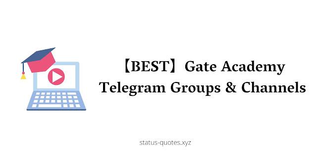 【BEST】Gate Academy Telegram Groups & Channels