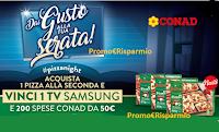 Logo Buitoni Pizza2 - Conad 2020: vinci 200 buoni spesa da 50€ e TV Samsung