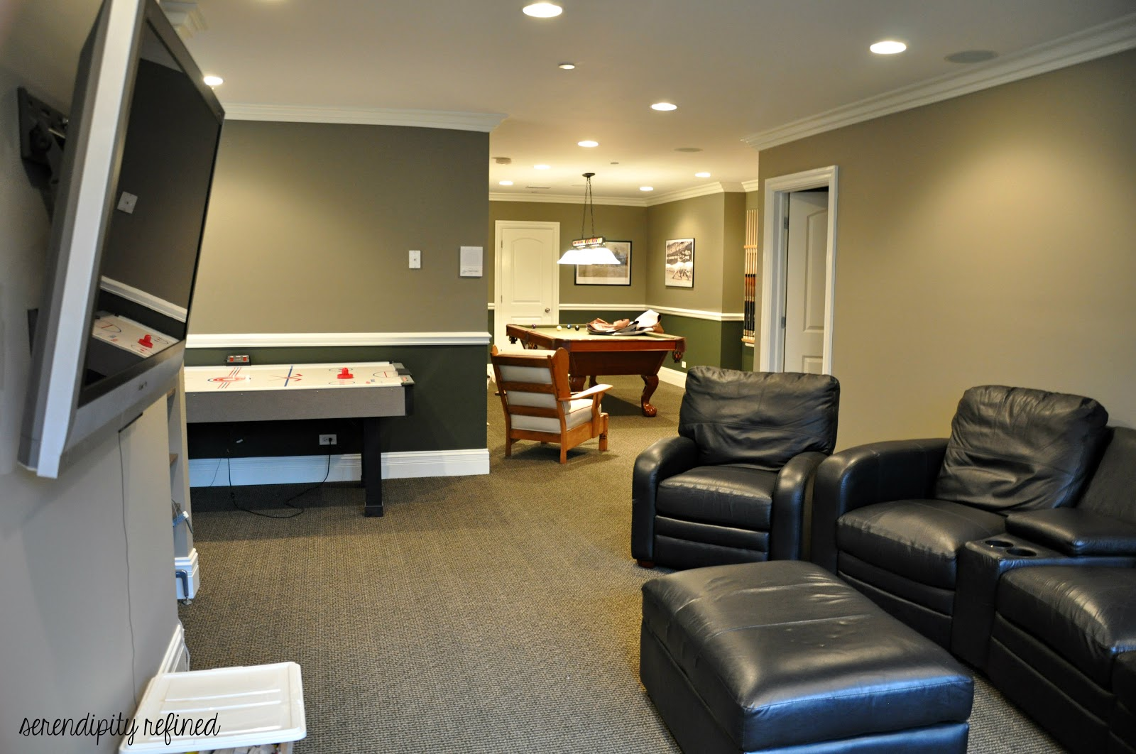 Serendipity Refined Blog Basement Make Over Reveal And My New Year S Resolution