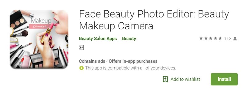 Face Beauty Photo Editor ~ Apps Design & Development Company