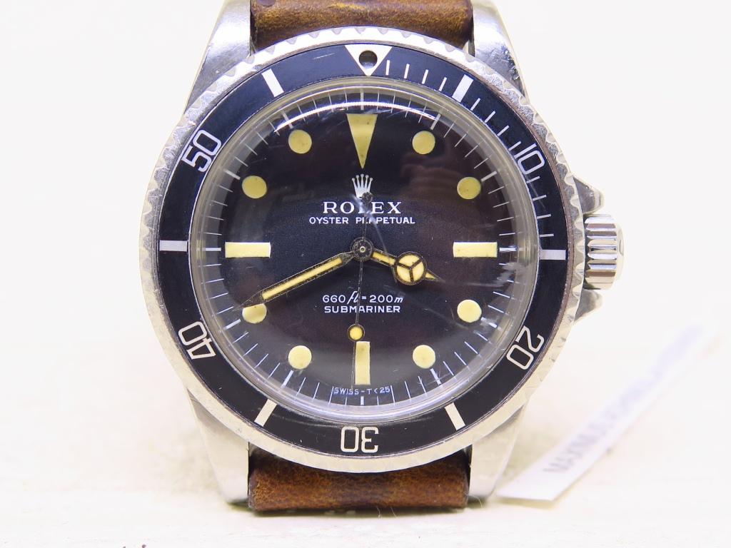 ROLEX SUBMARINER NO DATE MATTE DIAL - ROLEX 5513