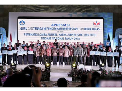 GTK Berprestasi Nasional 2018