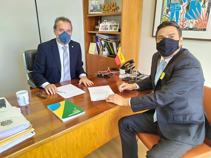 Prefeito Marconi Santana busca recursos por meio de emendas em Brasília