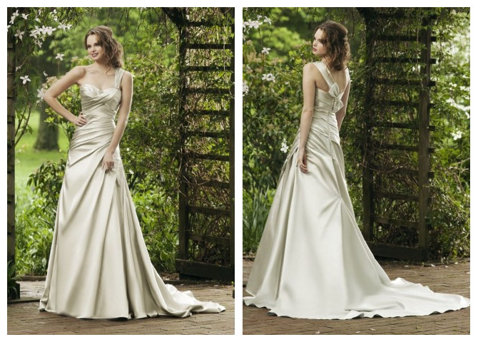 WhiteAzalea Destination Dresses: Useful Outdoor Wedding