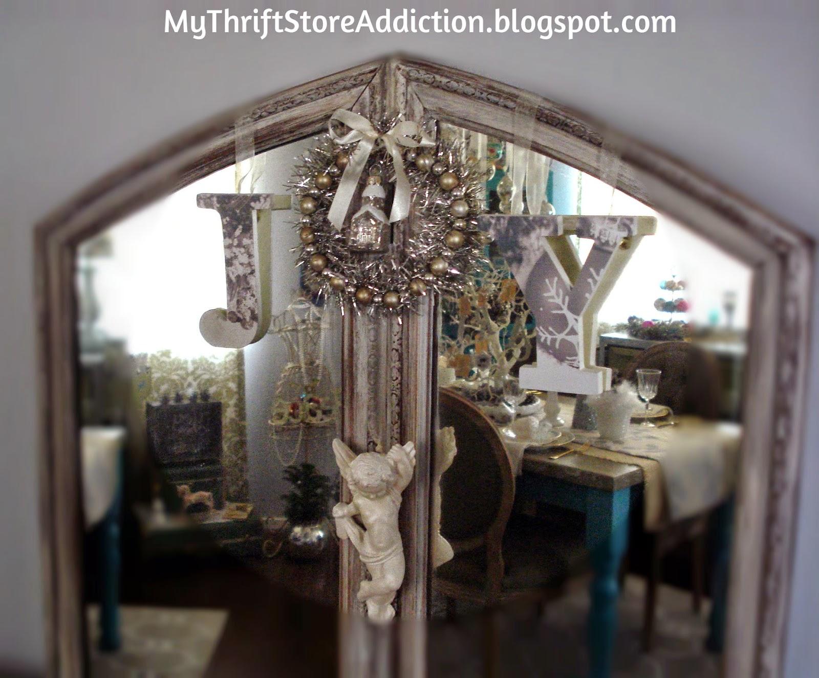 Vintage vanity mirror