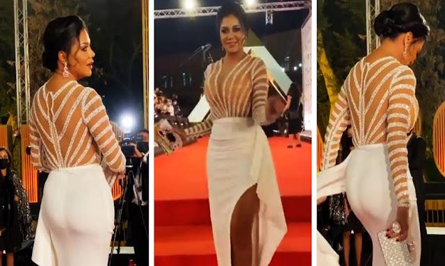 مصر : فضيحة رانيا يوسف بعد نشرها فيديو لمؤخرتها فى مهرجان القاهرة السينمائي