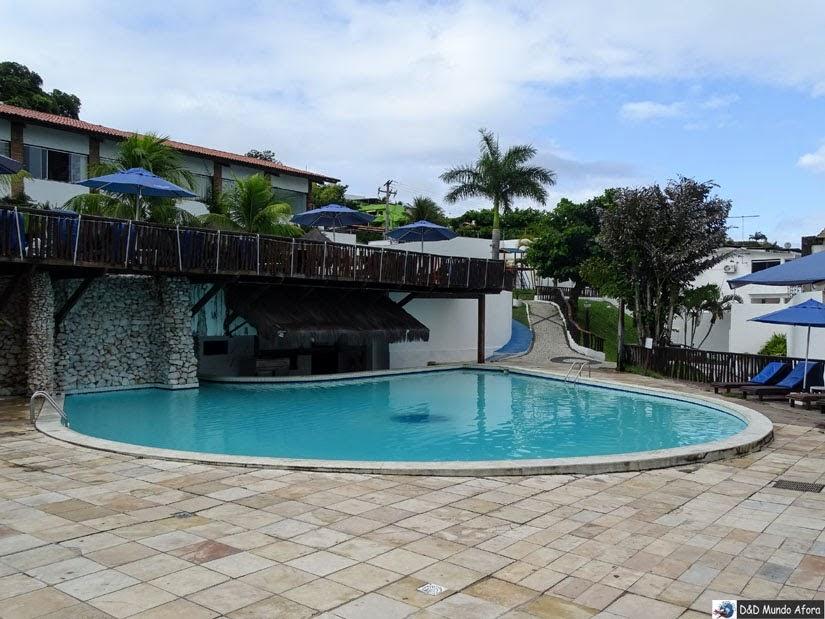 Bar molhado na piscina do DBeach resort - Onde ficar em Natal (RN)