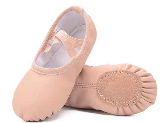 Ruqiji Ballet Slippers for Kids