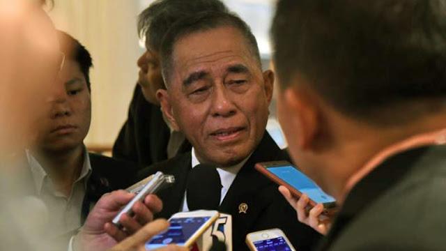 Soal FPI, Menhan: Bila Tak Taat Pancasila, Cari Negara Lain!
