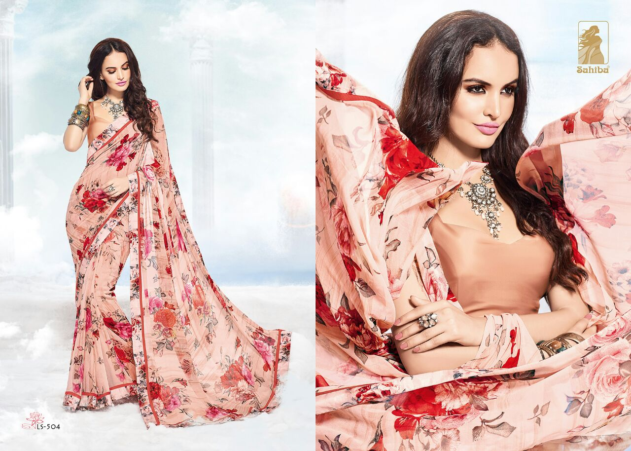 Lotus Vol 5 – Stylish And Fancy Fashionable Printed Saree Wholesale