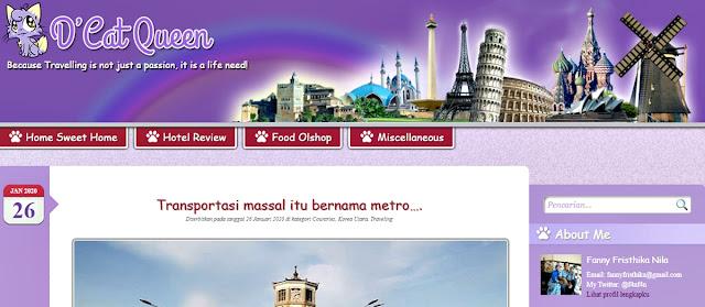 Travel blogger indonesia yang terkenal