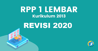 RPP 1 Lembar Revisi 2020 Mapel PAK Dan BP Kelas VIII SMP