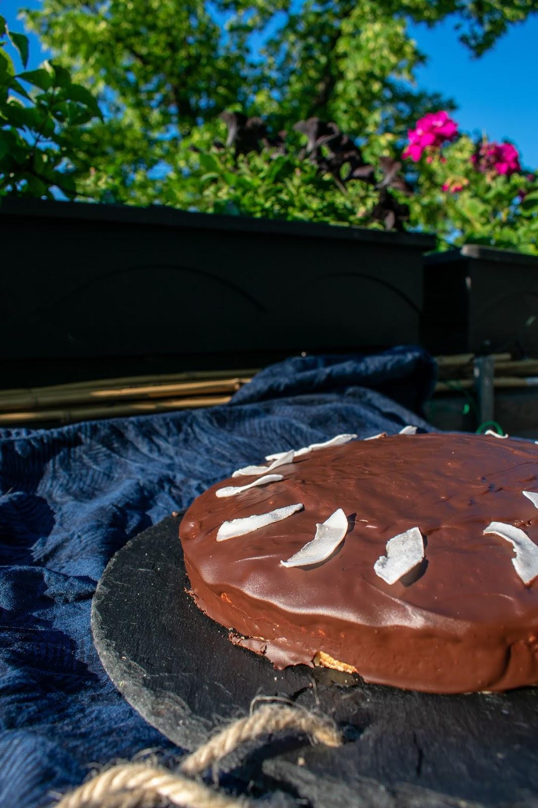 Schokoriegel Als Schneller Kuchen Bounty Kuchen Jenseits Von Eden