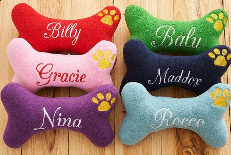 Get this personalized dog toy as a gift for your best friend dog