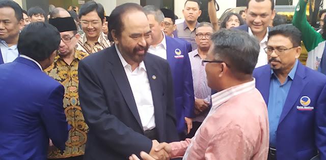 Manuver Nasdem Adalah Simbol Perlawanan Paloh Kepada Jokowi