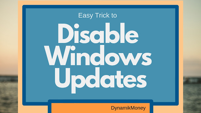 disable windows updates in windows 10 easy way