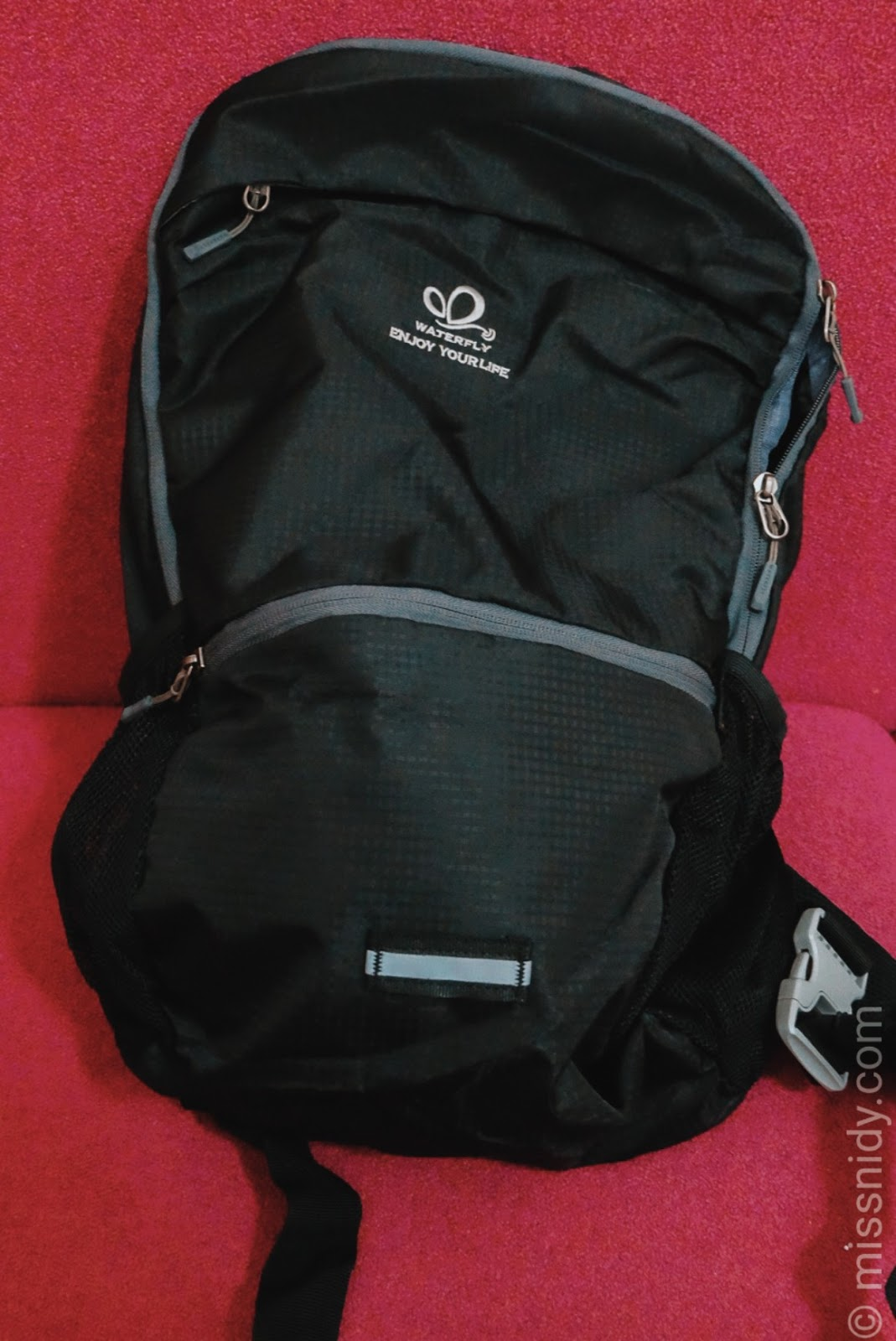 waterfly 3 in 1 multi0function backpack review indonesia