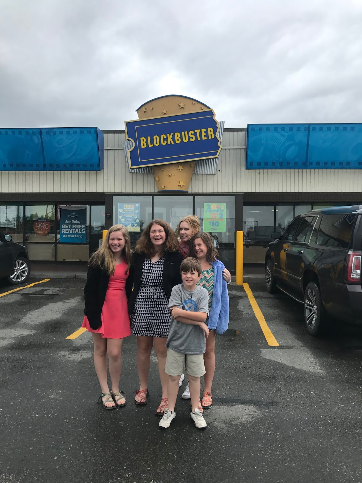 cbs sunday morning did a piece about this store so we wanted to take the kids to experience it john oliver of last week tonight also did a feature on it