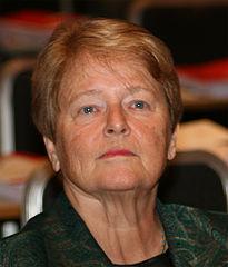 Gro Harlem Brundtland 2009. Foto GAD via wikimedia. Lisens CC by-sa 3-0