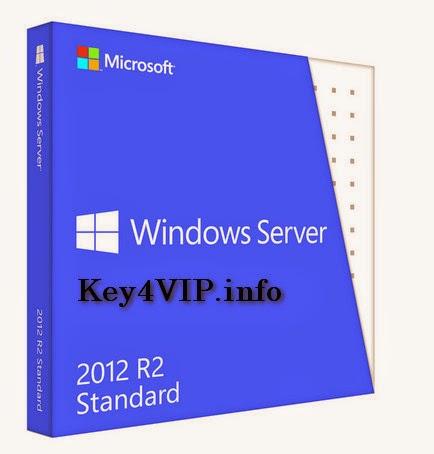 Bán key bản quyền Windows Server 2012 R2 Standar