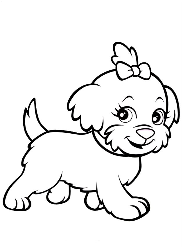 Dogs coloring pages 94