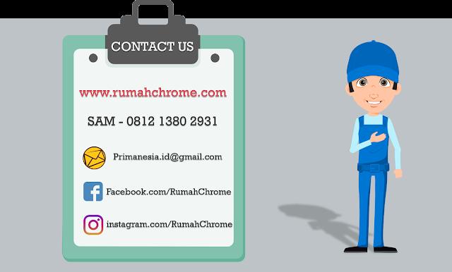 Jasa Chrome Jakarta - rumahchrome.com