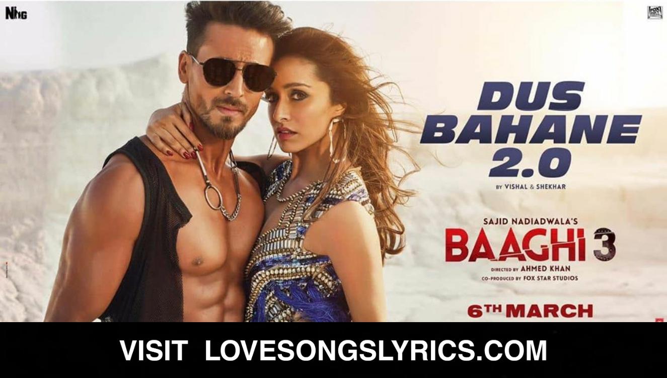 Dus Bahane 2.0 Lyrics In Hindi