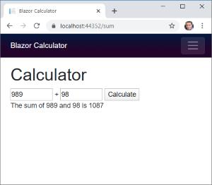 Calculadora Blazor