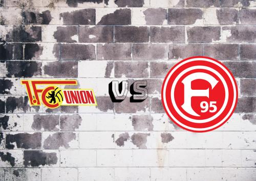 Union Berlin vs Fortuna Düsseldorf  Resumen