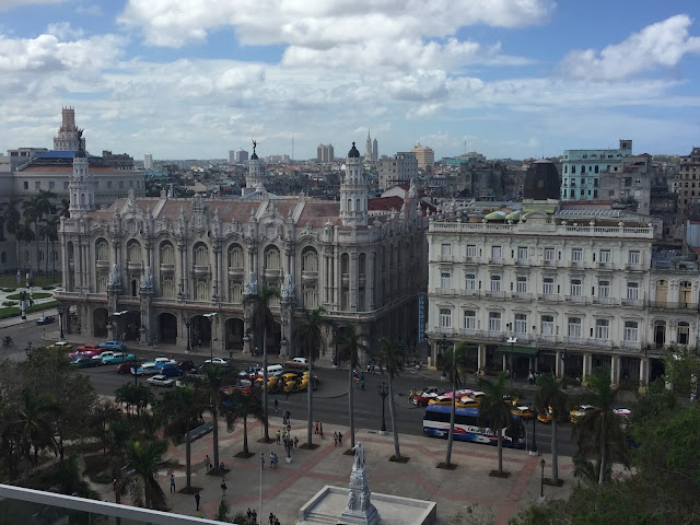 Parque Central from above, Havana