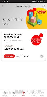 Paket Freedom Internet Indosat