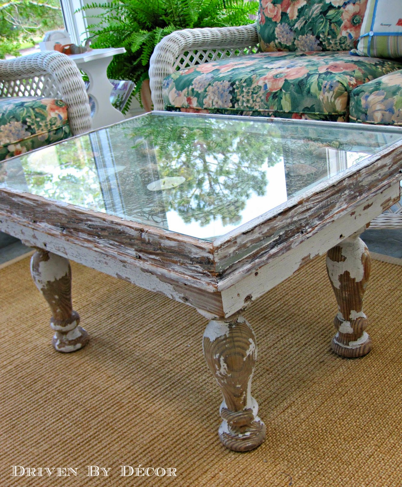 The Cutest Most Clever DIY Coffee Table Driven by Decor