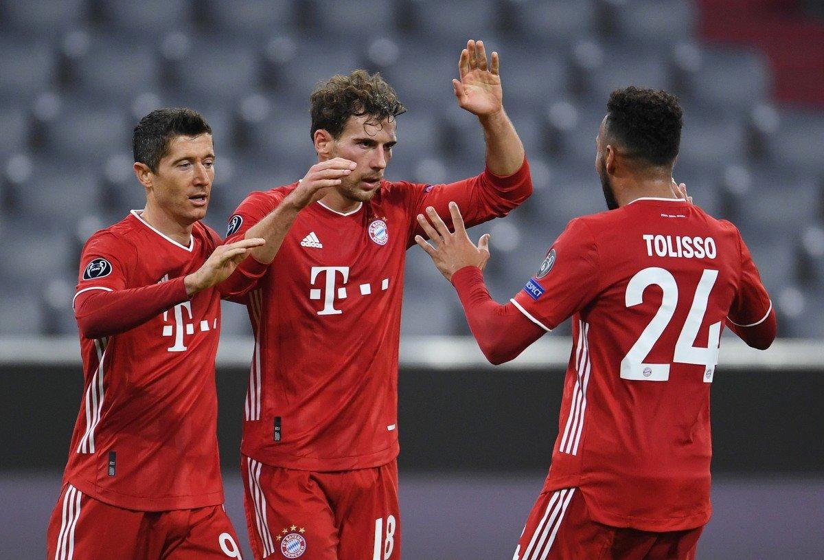 Bayern Munich 4-0 Atletico Madrid Champions League