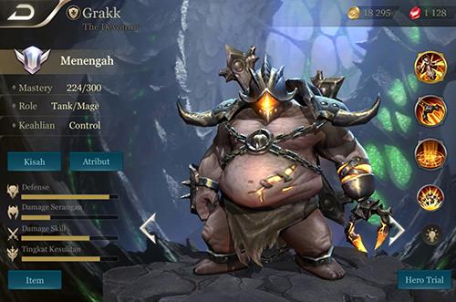 Grakk sẽ là một trong những trợ thủ đắc lực cho tất cả vị trí Rừng nữa đấy!