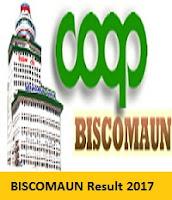 BISCOMAUN Result 2017