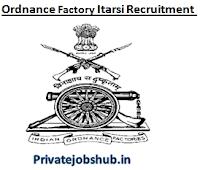 Ordnance Factory Itarsi Recruitment
