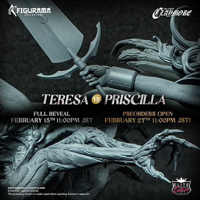 Figurama Collectors anuncia la figura Teresa vs. Priscilla Elite Exclusive Statue