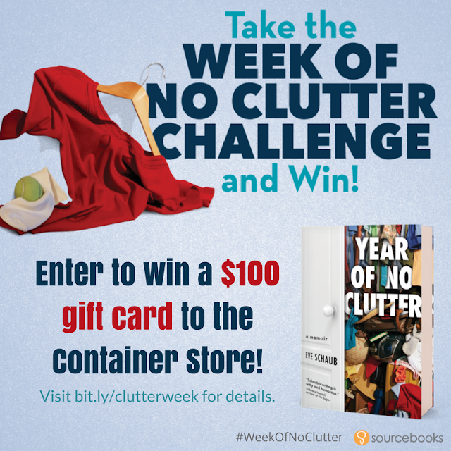 Giveaway, Year of No Clutter,