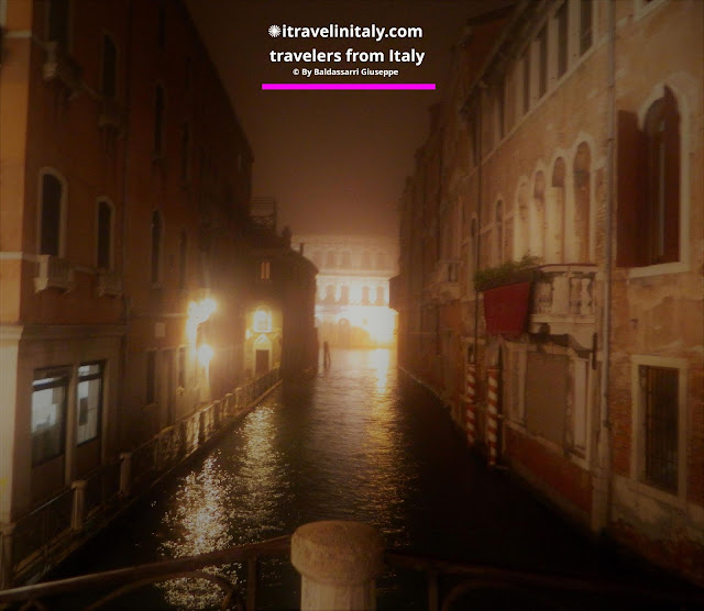 "The fog makes Venezia mysterious and fascinating Copyright ""All rights reserved"" © By itravelinitaly.com travelers from Italy Baldassarri Giuseppe Visual Storytelling"