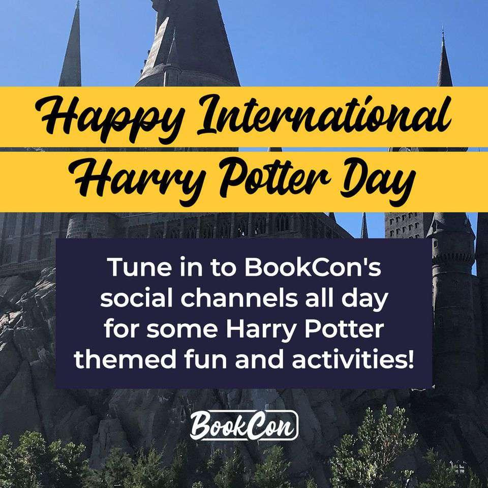 International Harry Potter Day Wishes Beautiful Image
