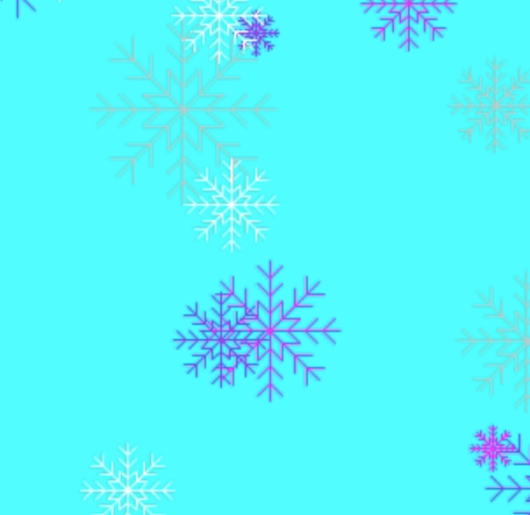 Make Snowflakes with Code for Hour of Code!