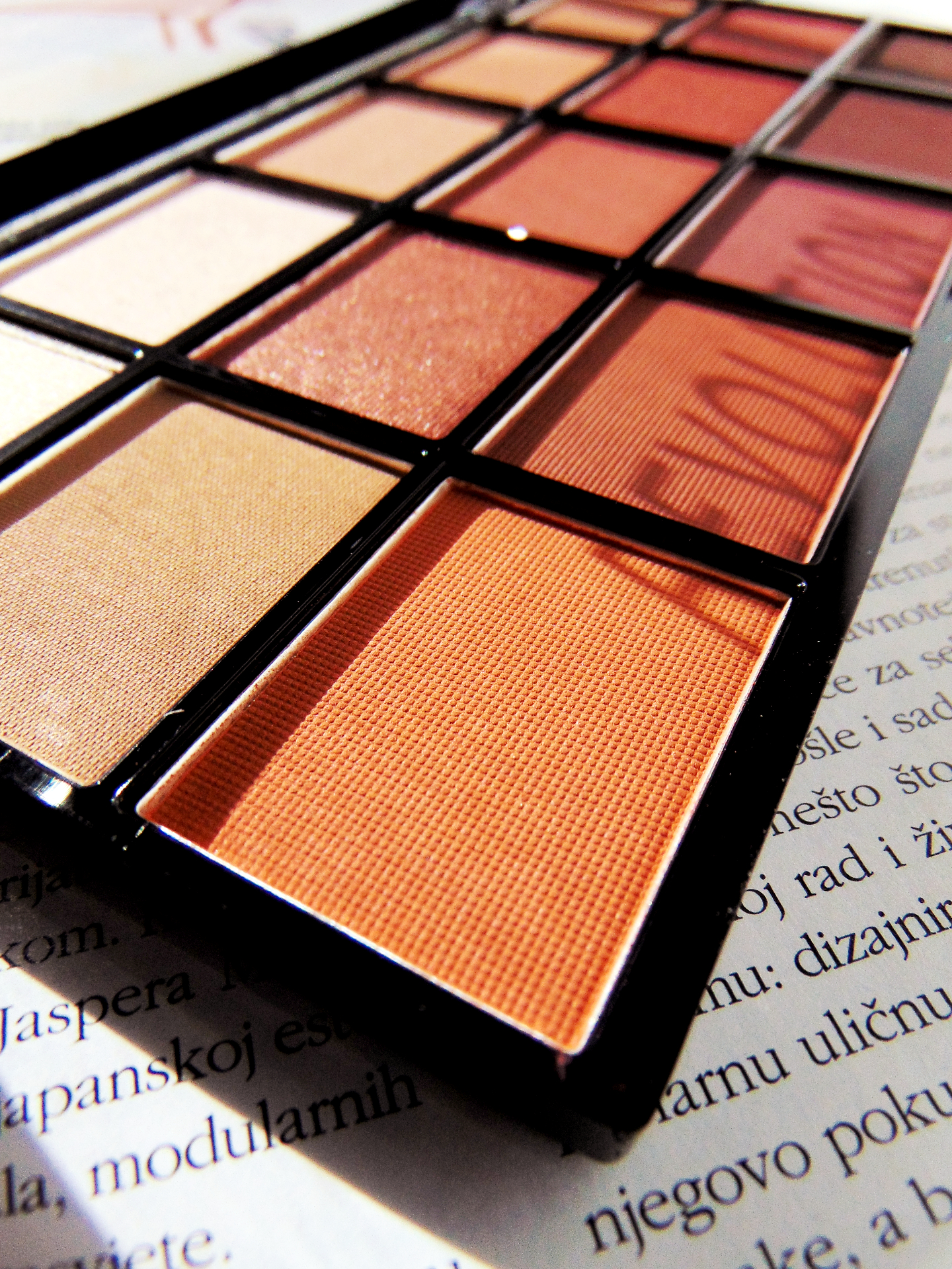 Makeup Revolution London Reloaded Palette Review