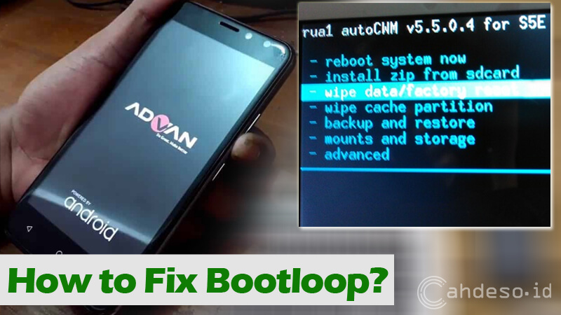 Cara Mengatasi Android Advan Bootloop