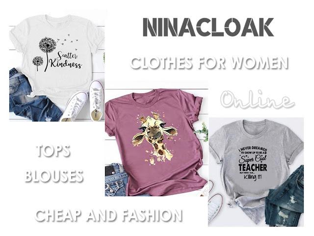 Красивые и модные футболки в интернет-магазине Ninacloak