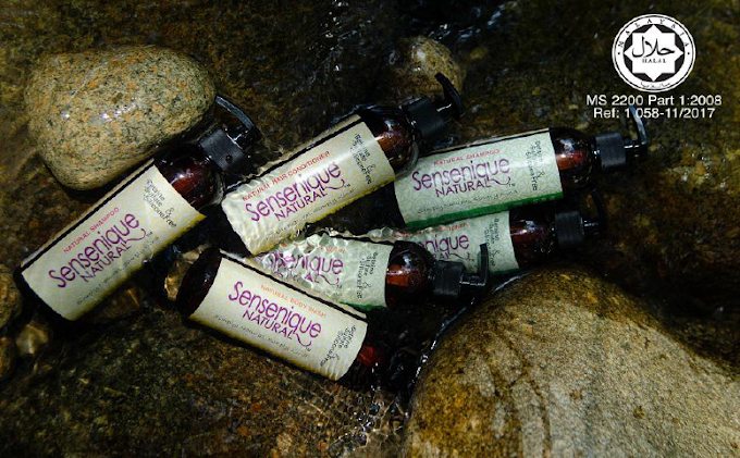 Review - Sensenique Natural Shampoo dan Sensenique Natural Conditioner